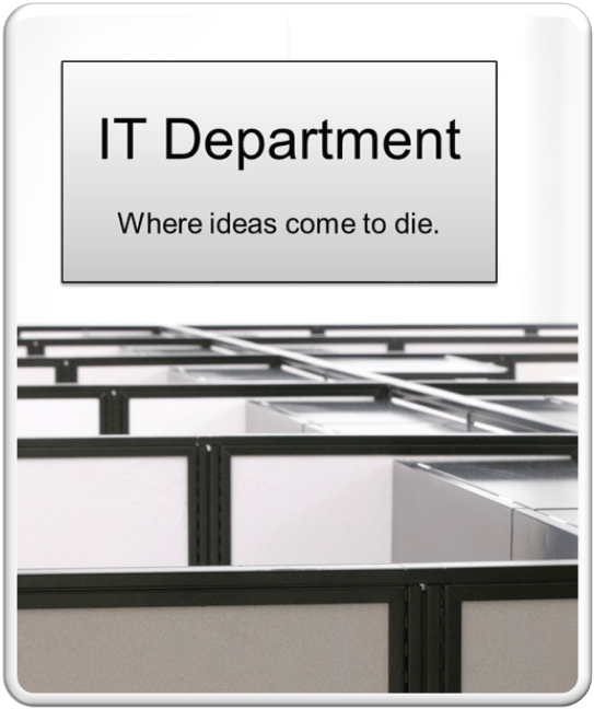 IT department joke