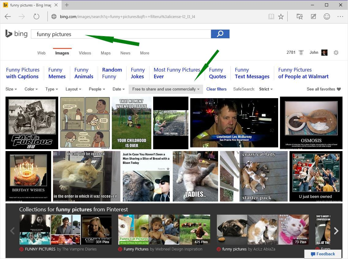 Bing funny pictures search results