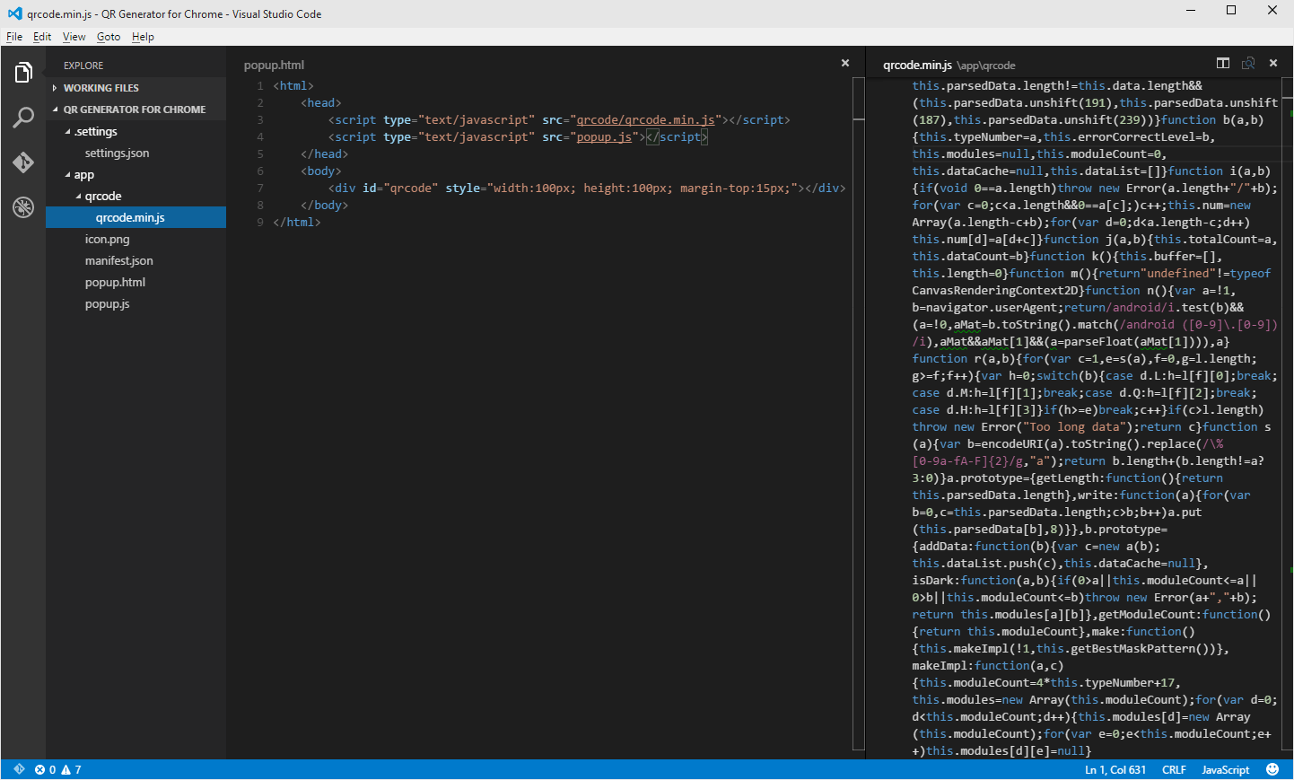 Creating a Chrome extension using Visual Studio Code | John